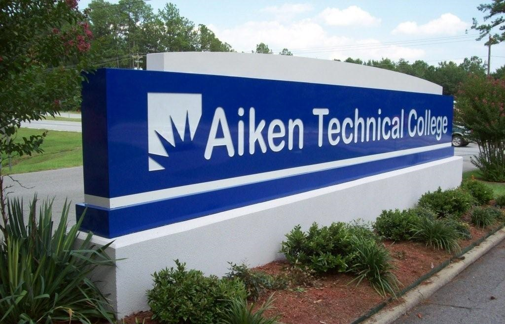 Aiken Technical College Signage
